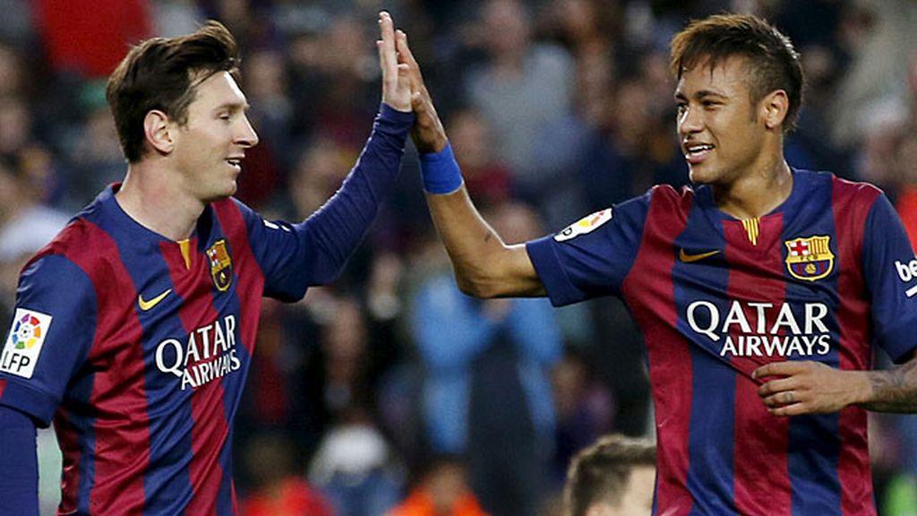 El Barcelona saca el rodillo con el Getafe (6-0) y le vale con  la primera parte