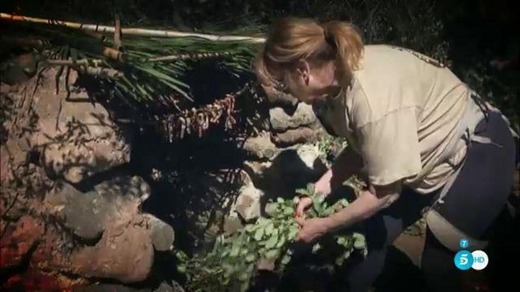 Mila se prepara a fondo para 'Supervivientes'