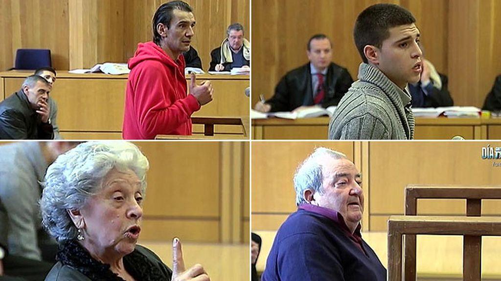 Los acusados del secuestro de Abel Diéguez se defienden ante el juez