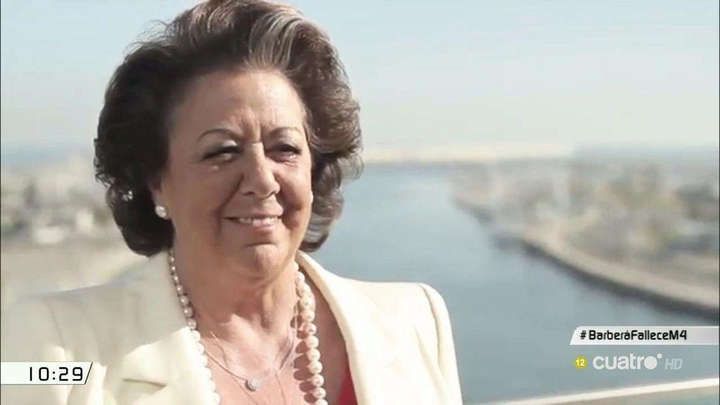 Rita Barberá muere de un infarto a los 68 años de edad en un hotel de Madrid