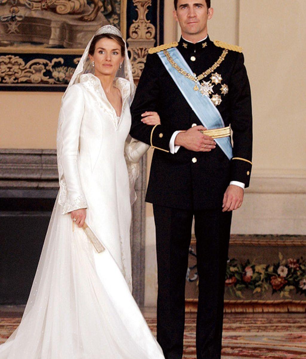 Felipe y Letizia, diez años de casados