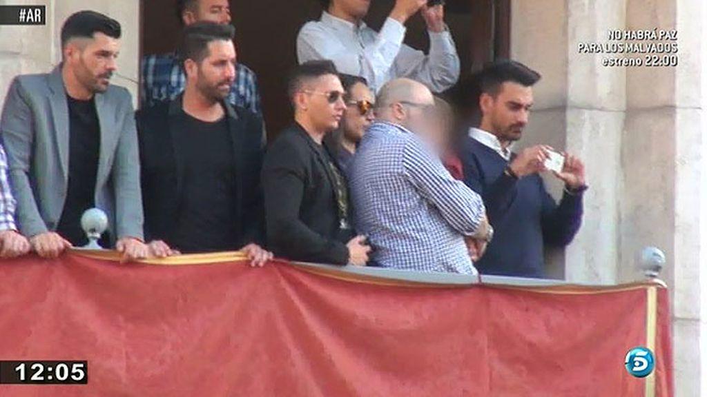 Kiko Rivera disfruta de la Semana Santa en Sevilla con su hijo Francisco