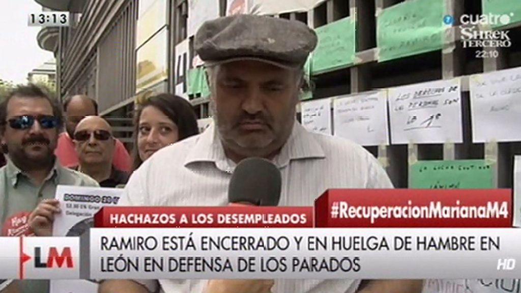 Retiran a Ramiro la prestación tras no poder atender una notificación del INEM