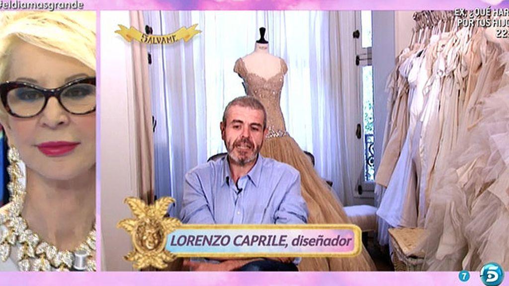 "El segundo ""yogur-sorpresa"" de Karmele: Lorenzo Capriles alaba su estilismo"