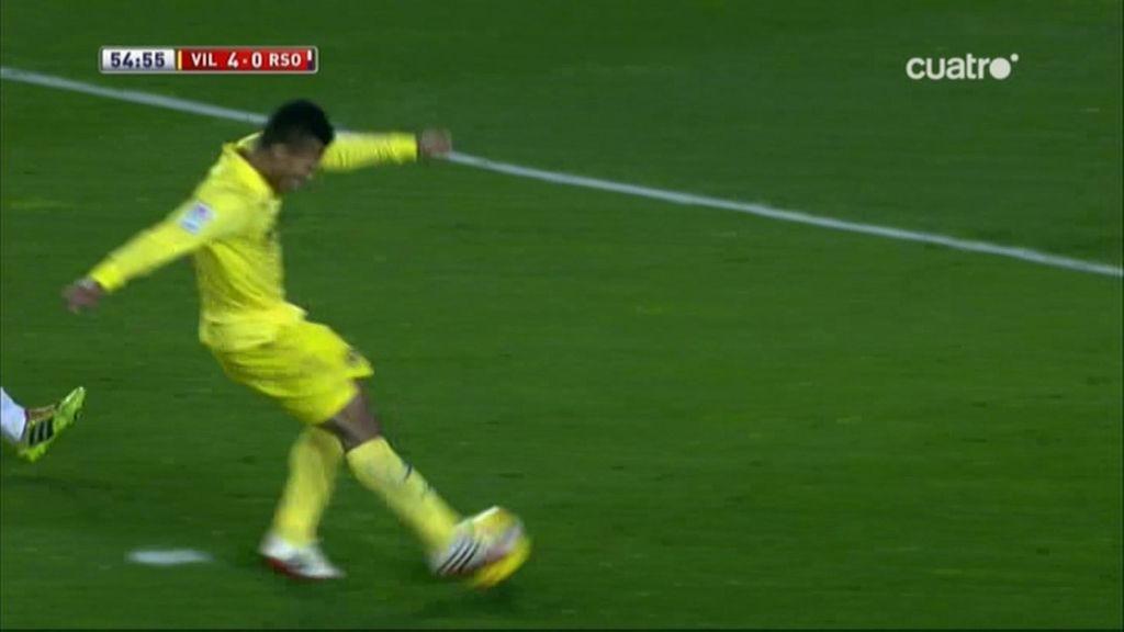 Gol de Uche (Villarreal 4-0 Real Sociedad)