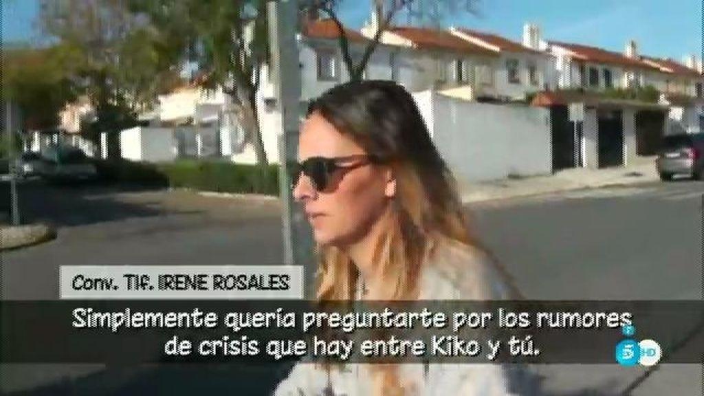 """Irene Rosales, desmiente el comentario de O. Hormigos: """"No voy a hablar ahora"""""""