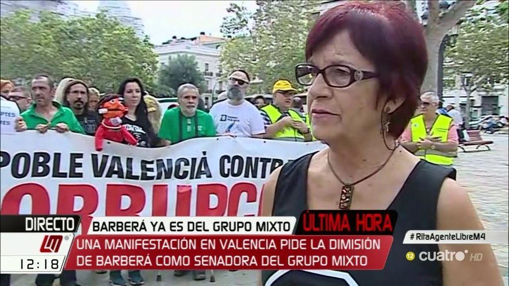 """Lola Pérez: """"Me parece indignante que Barberá y estos 9 sigan riéndose del pueblo"""""""