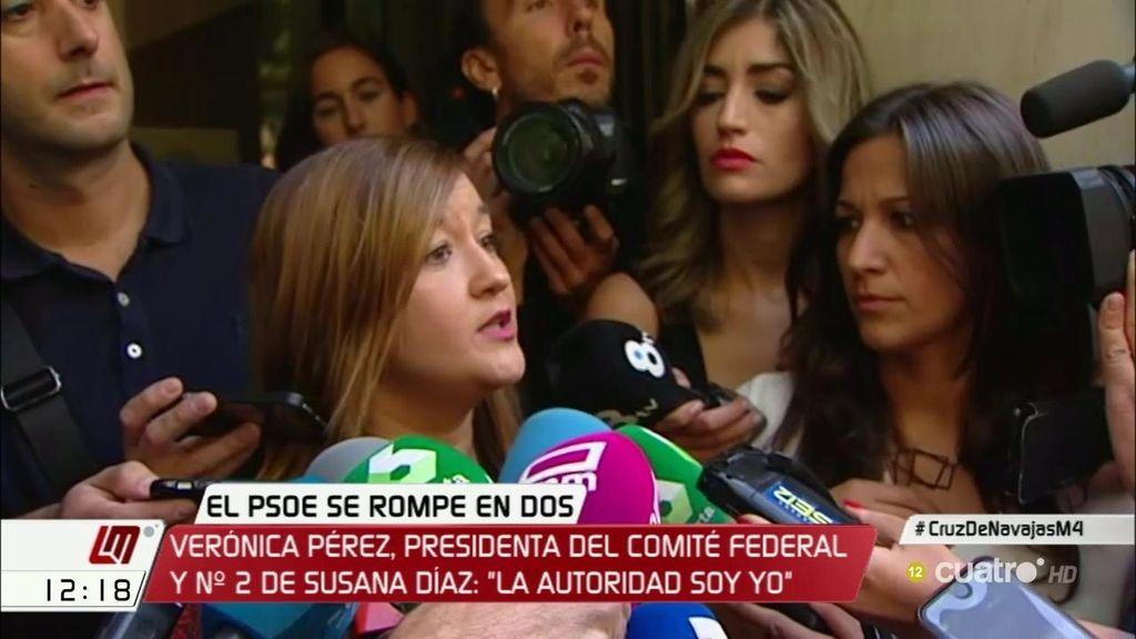 "Verónica Pérez : ""No nos dejan acceder a las dependencias de Ferraz"""