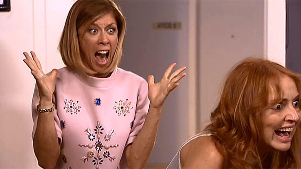 """La Cuqui descubre el affaire de Amador y Judith: """"¿Vais en serio?"""""""