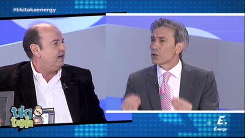 """Lobo Carrasco: """"El fútbol está de enhorabuena ¡los pobres son ganadores!"""""""