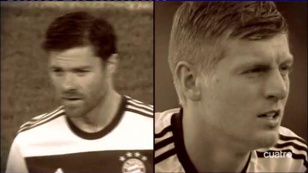 Toni Kroos y Xabi Alonso,mediocentros con vidas paralelas, pero con caminos cruzados