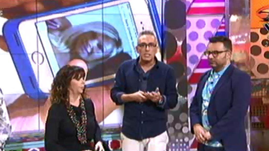 Kiko Hernández anuncia a Mª Luisa que Christopher y Rafa estuvieron con Sara
