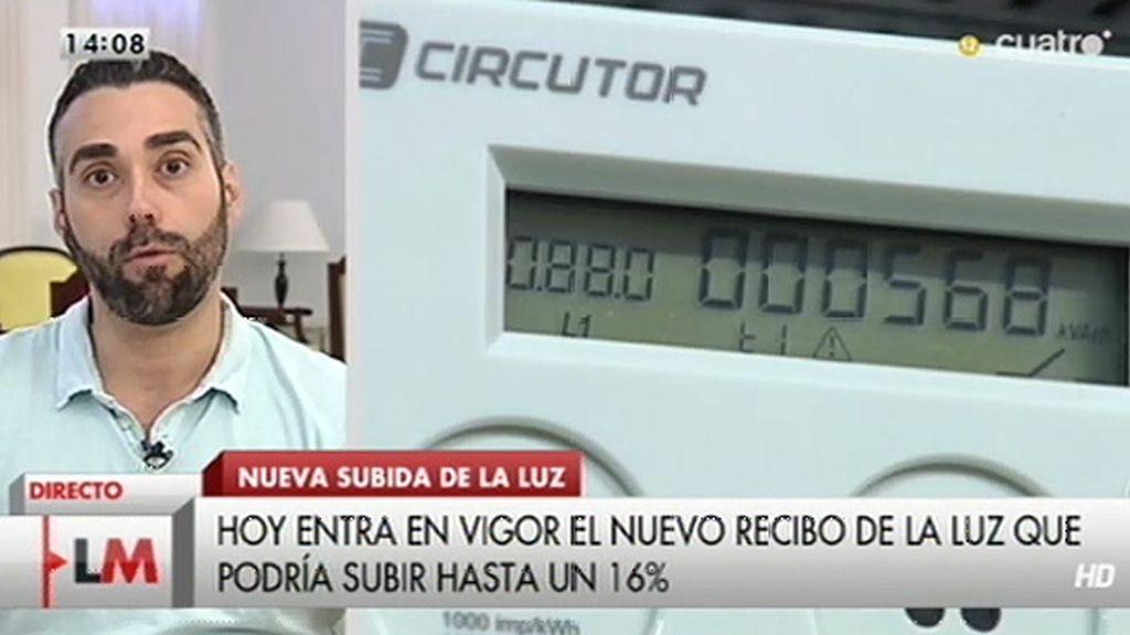 El recibo de la luz subirá un 16% en el verano con la nueva tarifa, según 'El Economista'