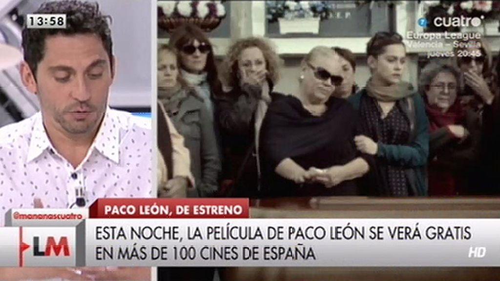 """Paco León: """"Creo que la realidad debería ser el referente de cualquier obra de arte"""""""