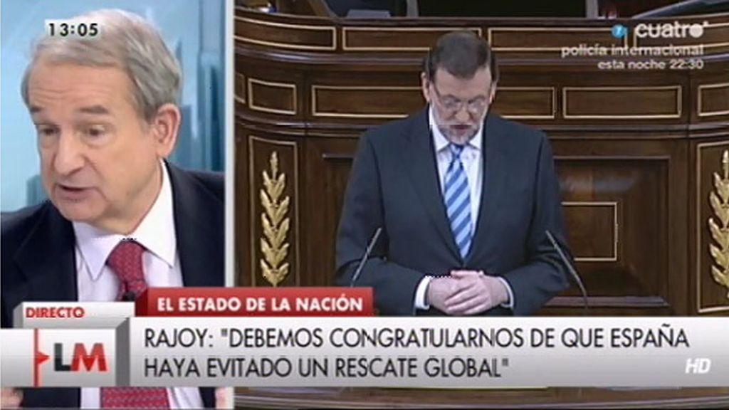 """Apezarena: """"Podíamos pensar que Rajoy no iba a hacer nada por mejorar y lo va a hacer"""""""