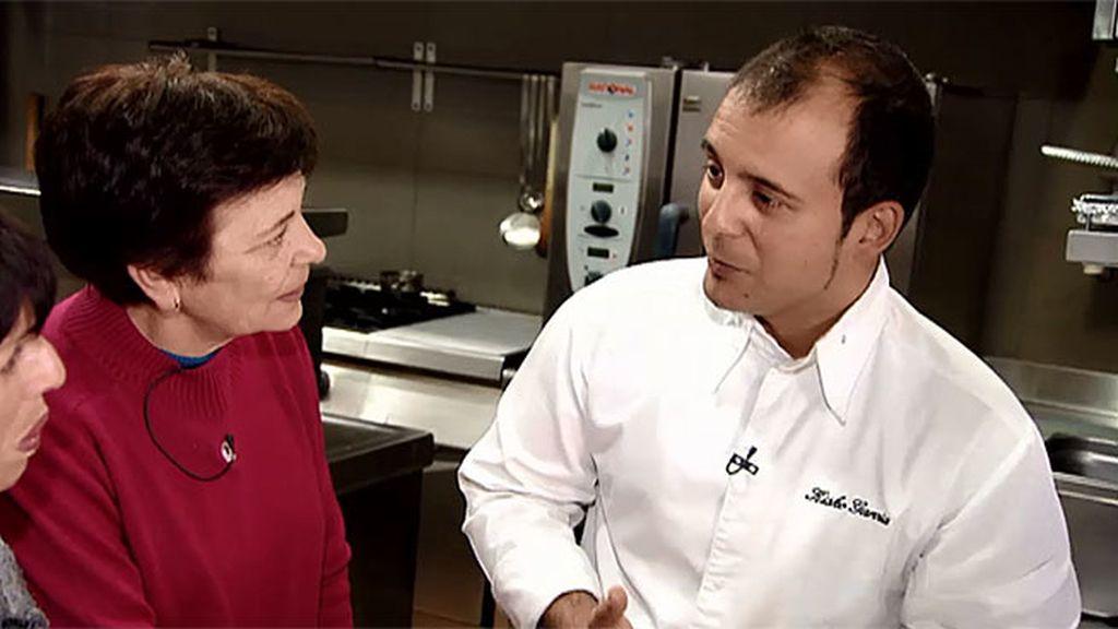 Kisko García, chef con una estrella Michelín, incluirá el turrolate en su carta