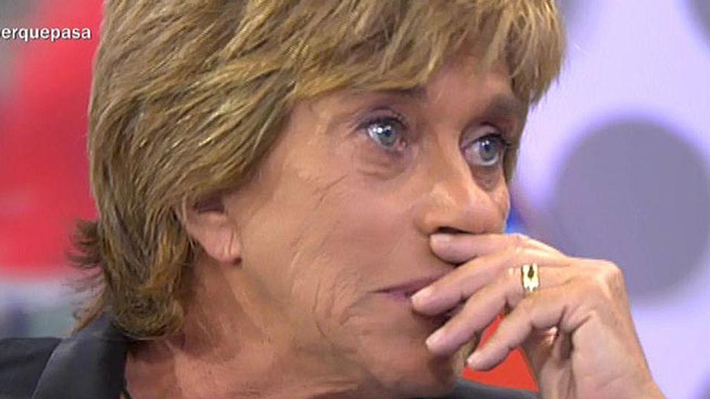 """Chelo se emociona después de hablar con Isabel Pantoja: """"Voy a estar a su lado"""""""