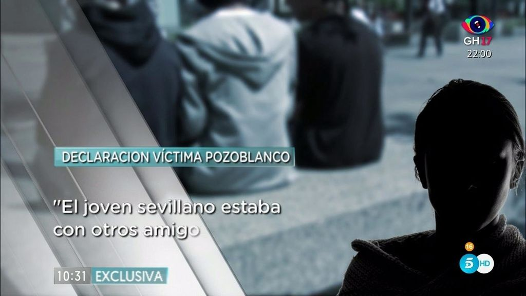 """Supuesta víctima de Pozoblanco: """"No recuerdo nada, tengo un lapsus de tiempo"""""""