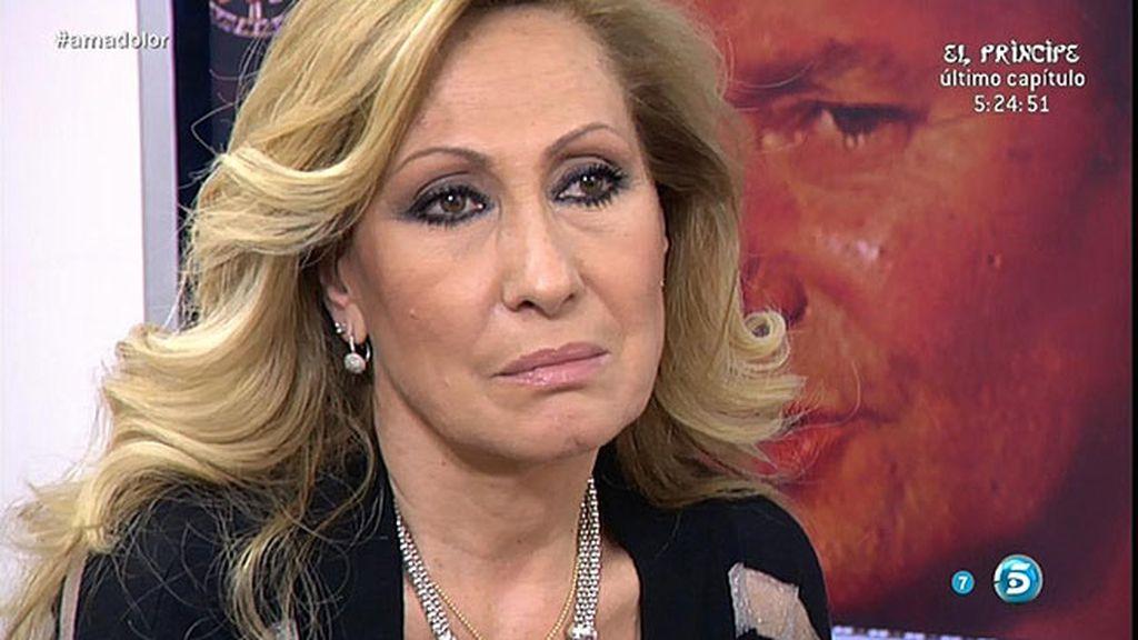 """Rosa, sobre Amador: """"No quiero tener más conversaciones, me falló y ahí no tuve culpa"""""""