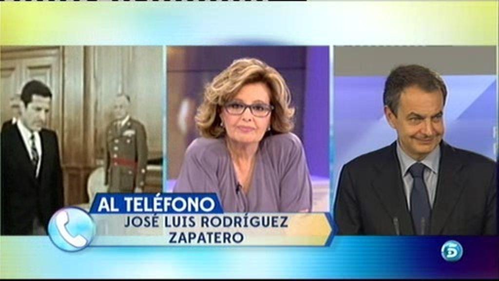 "Rodríguez Zapatero: ""Estaré eternamente agradecido a Adolfo Suárez"""