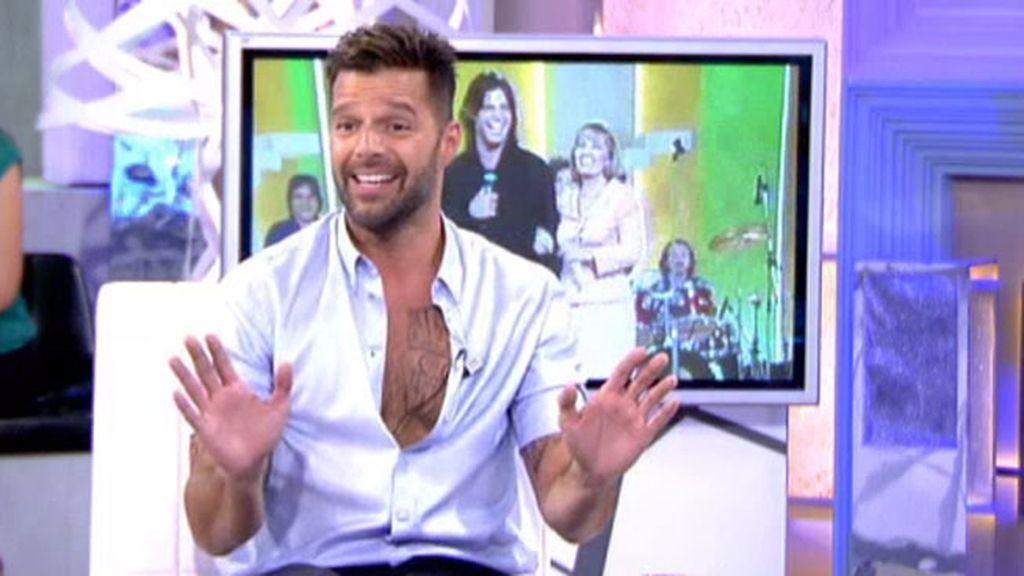 """Ricky Martin: """"Ahora voy a por más hijos, quiero a la nena de papá"""""""