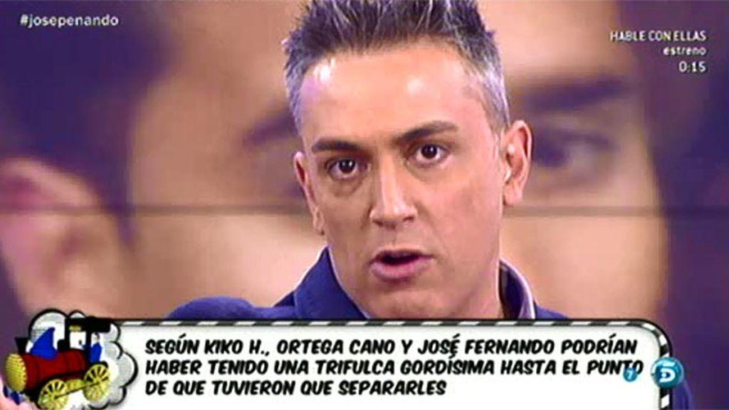 Según Kiko H., Ortega Cano y José Fernando tuvieron un fuerte enfrentamiento