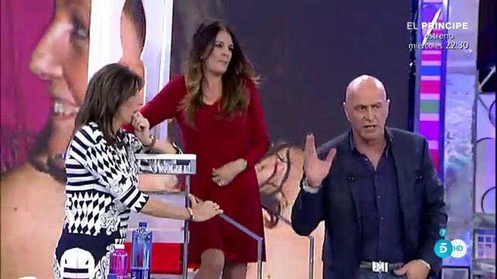 "Ángela Portero advierte a K. Matamoros: ""Ten cuidado porque te va a explotar otra bomba"""