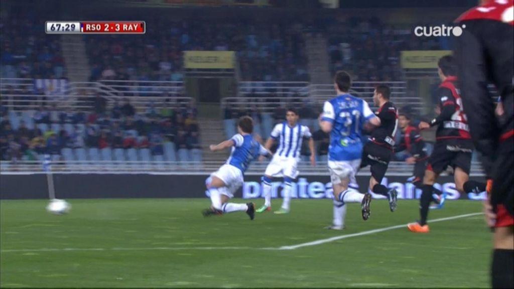 Gol de Rochina (Real Sociedad 2-3 Rayo)