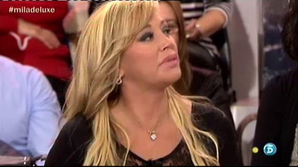 """Belén Esteban: """"Rosa no me va a llamar más pero si me llamase no se lo cogería"""""""