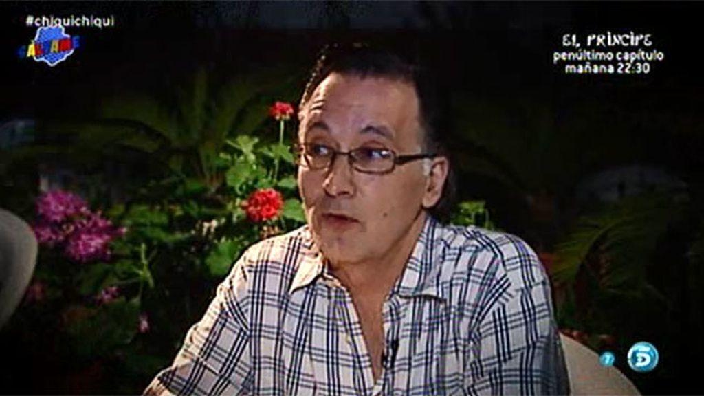 """Manuel Zurita, examigo de Chiqui y Borja: """"Él es un reprimido, un vago y un aprovechado"""""""
