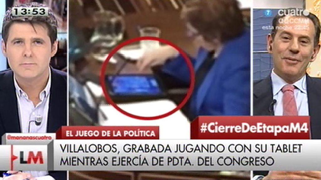 """R. Merino (PP): """"Si, efectivamente, Villalobos estaba jugando, procede pedir disculpas"""""""