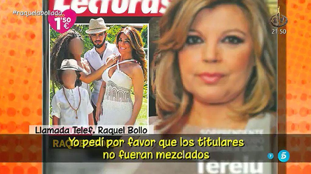 """Raquel Bollo se defiende: """"Ellos han abierto la puerta y no me voy a callar"""""""