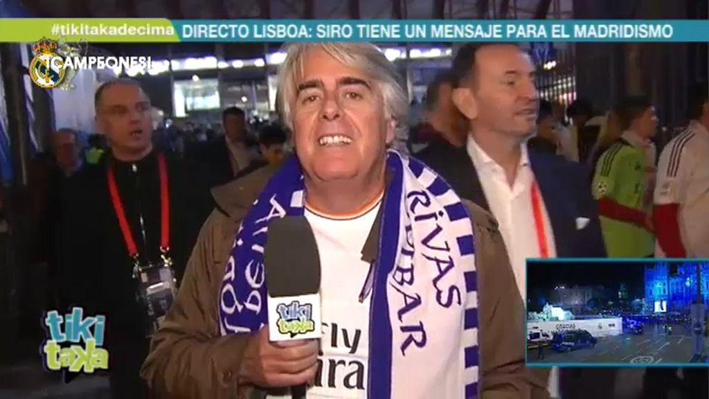 """Siro López: """"Sergio Ramos representa la casta y el corazón del Real Madrid"""""""
