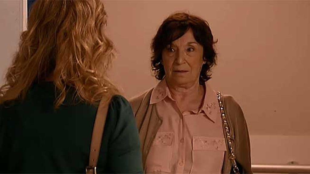 """Fina, a Berta: """"Mala y p***, es que los tienes todo hija"""""""