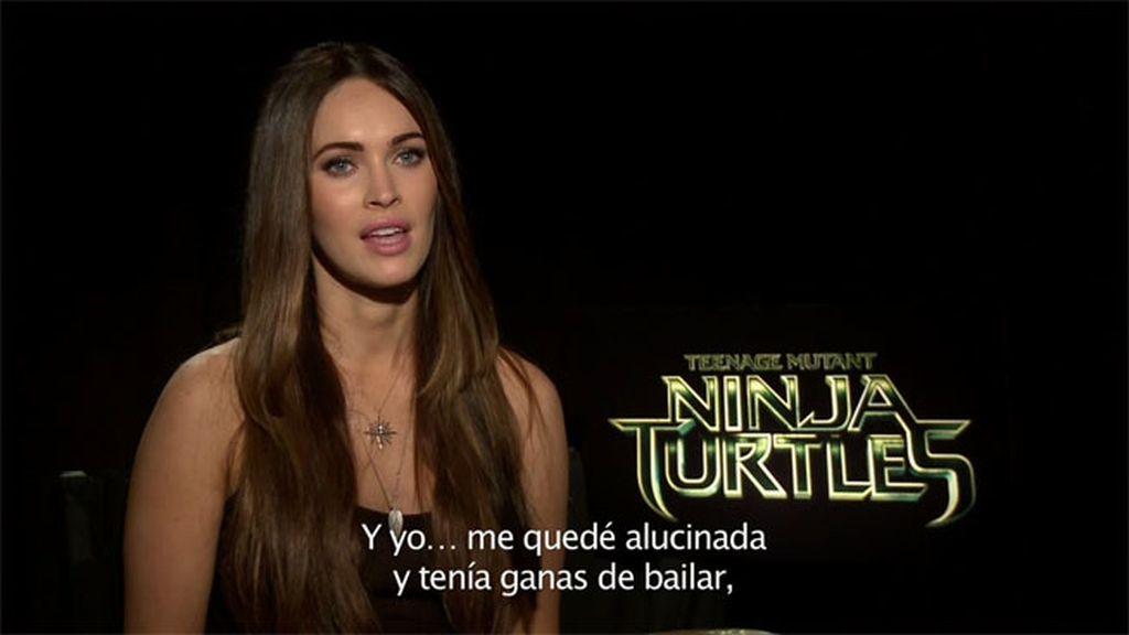 """Megan Fox: """"He sido fan de las tortugas Ninja desde niña, no quería echarlo todo a perder"""""""