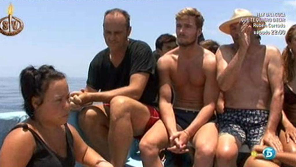 Los concursantes han tenido que ser evacuados de Playa Uva