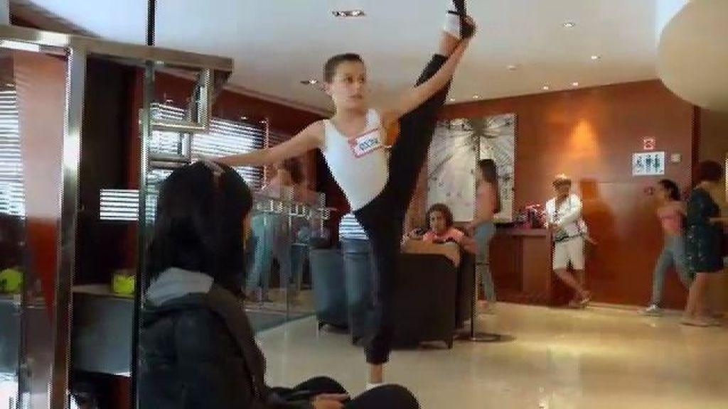 Dominique, el Billy Elliot de 'Pequeños Gigantes' desde Tenerife