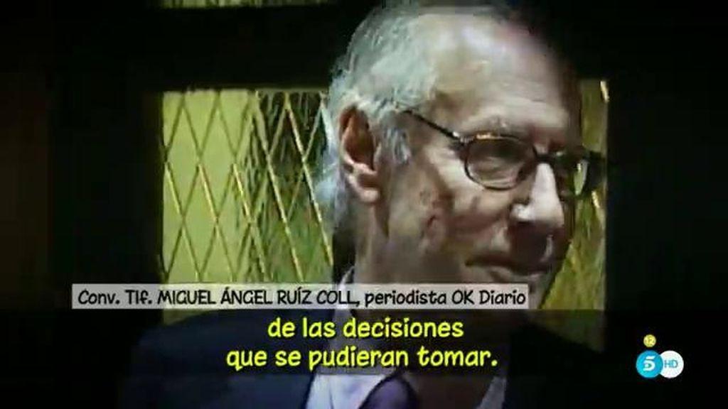 """M.A. Ruiz Coll: """"La familia de Boyer teme que en sus últimos años él no fuera completamente consciente de las decisiones"""""""