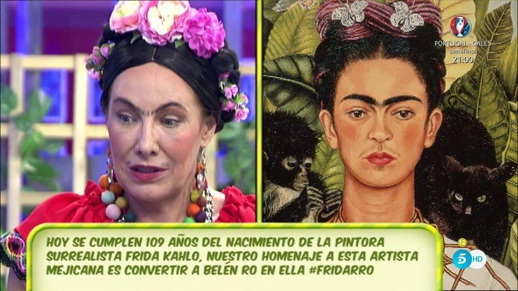 Belén Ro homenajea a Frida Kahlo