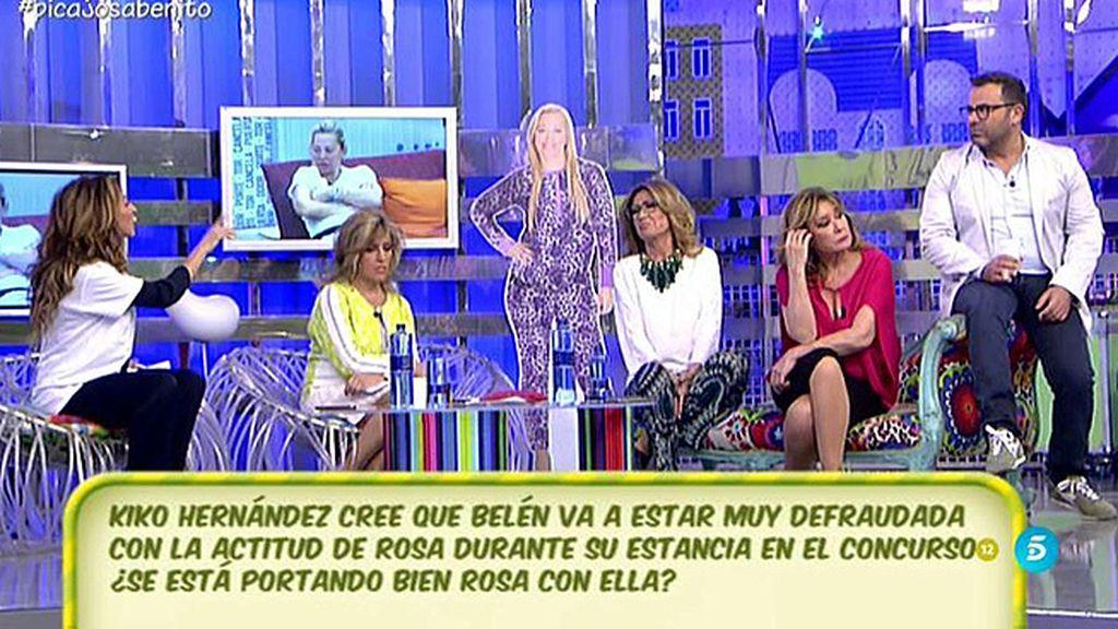 """María Patiño: """"Rosa tiene que dejar de fingir"""""""