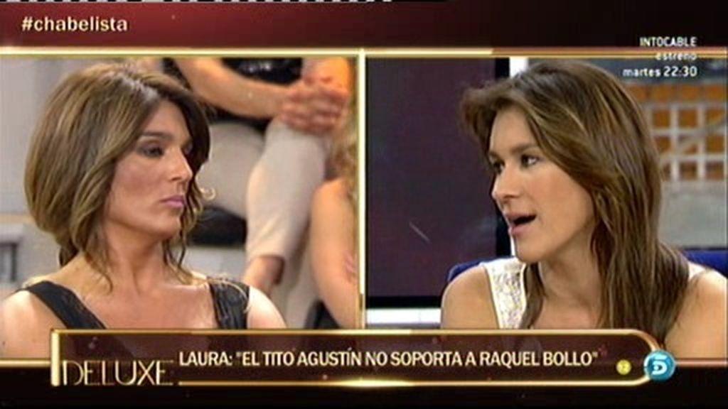 """Laura: """"Agustín piensa que Raquel Bollo tiene relación con Isabel por interés"""""""