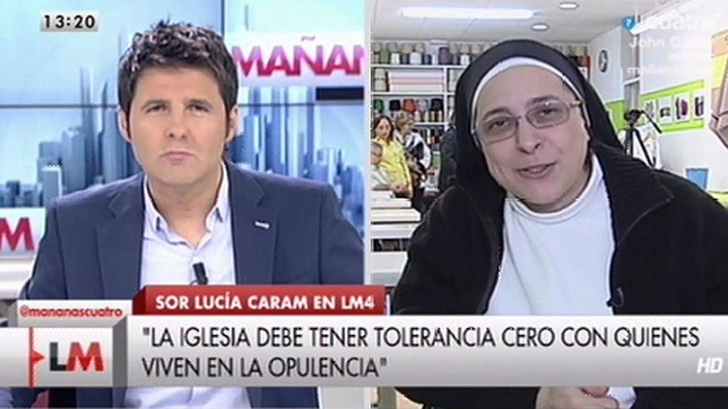 La entrevista con Sor Lucía Caram, online