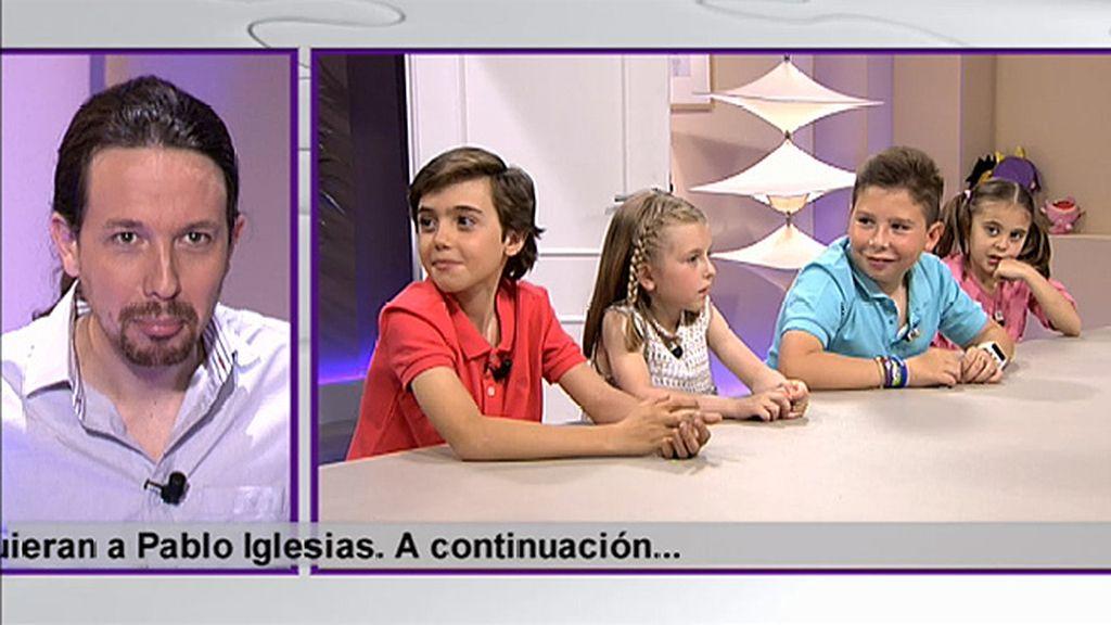 "Álvaro: ""Pablo Iglesias tiene cara como de enfadado"""