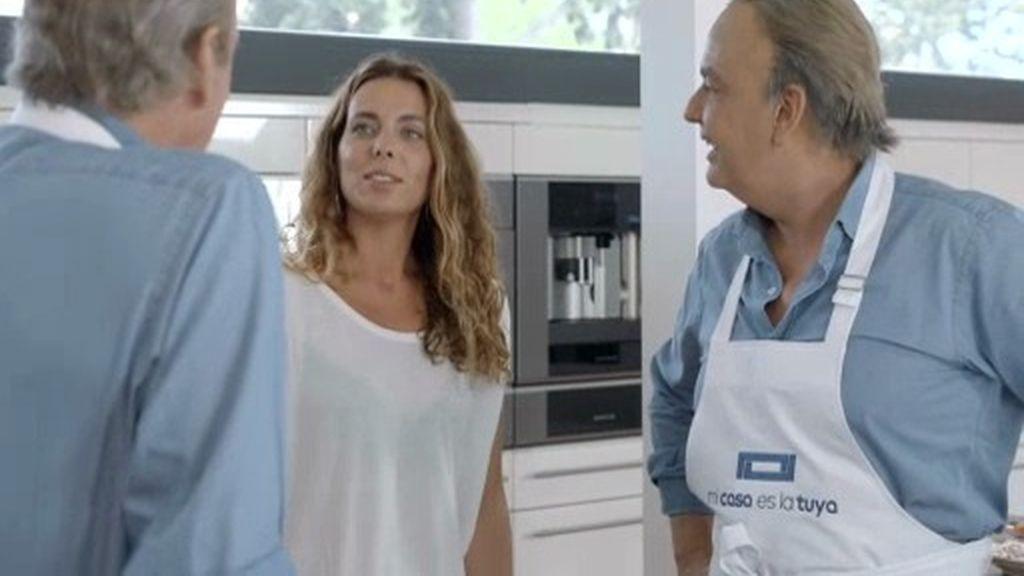 """Bertín 'conoce' a la hija del falso Bertín: """"¡Qué buena está, tú!"""""""