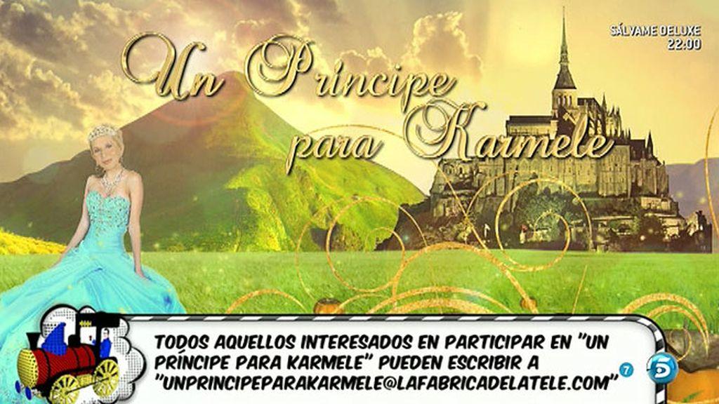 'Sálvame' buscará 'Un príncipe para Karmele'