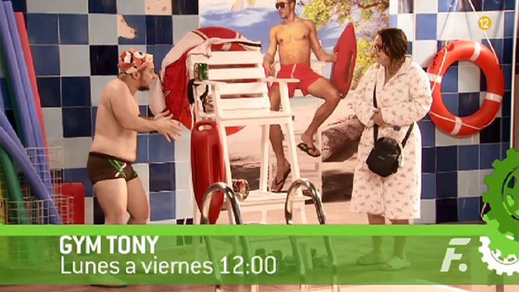 ¡Apúntate al 'Gym Tony' de las 12 en FDF!