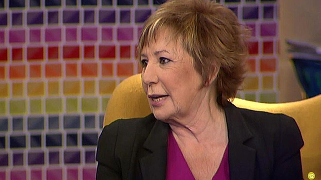 """Celia Villalobos: """"A mí no me pasaría lo de Aguirre, yo le saco el dinero a mi marido"""""""