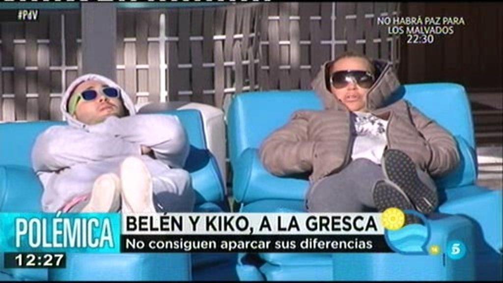 Kiko Rivera y Belén Esteban no consiguen aparcar sus diferencias