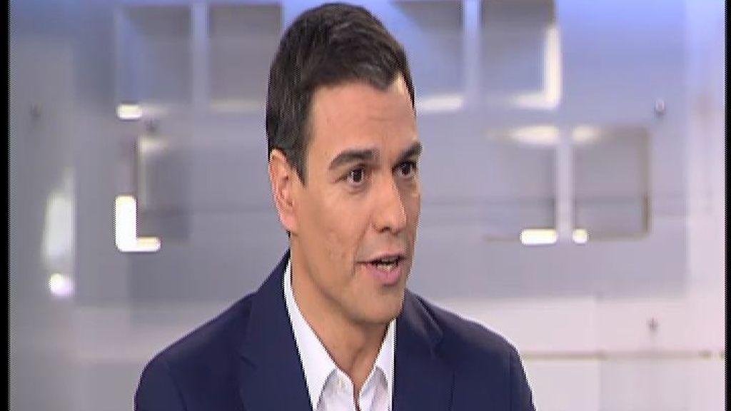 """Pedro Sánchez sobre el mal dato del CIS: """"Las encuestas no son más que una 'foto fija'"""""""