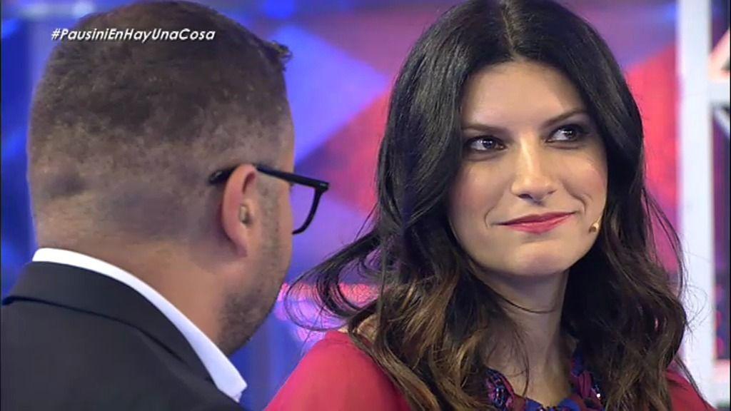 """Coger, cubrir, tomar…"" La batalla dialéctica de Jorge Javier y Laura Pausini"
